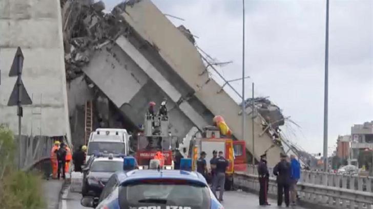 At Least 35 Killed As Italian Highway Bridge Collapses