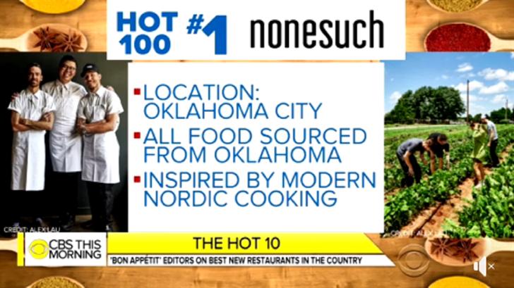 Oklahoma Restaurant Given High Honor By Bon Appétit Magazine