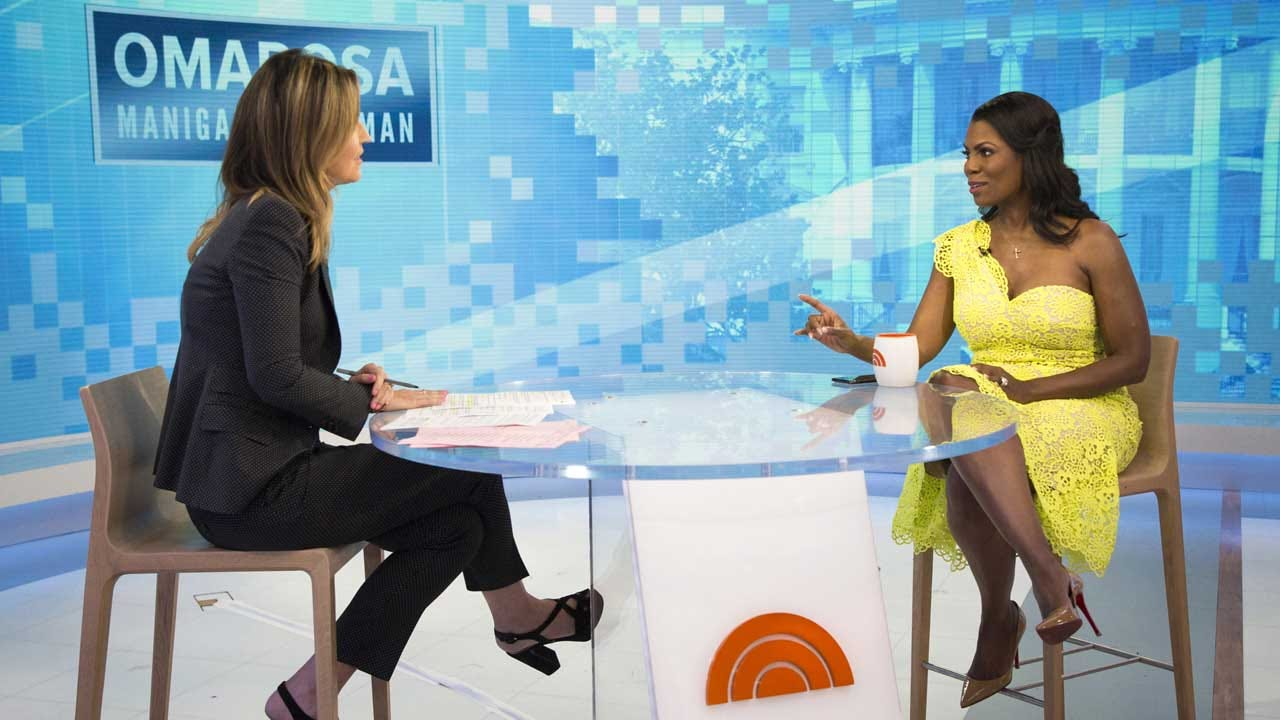 Omarosa: Tape Has Trump Campaign Aides Spinning Use Of N-Word