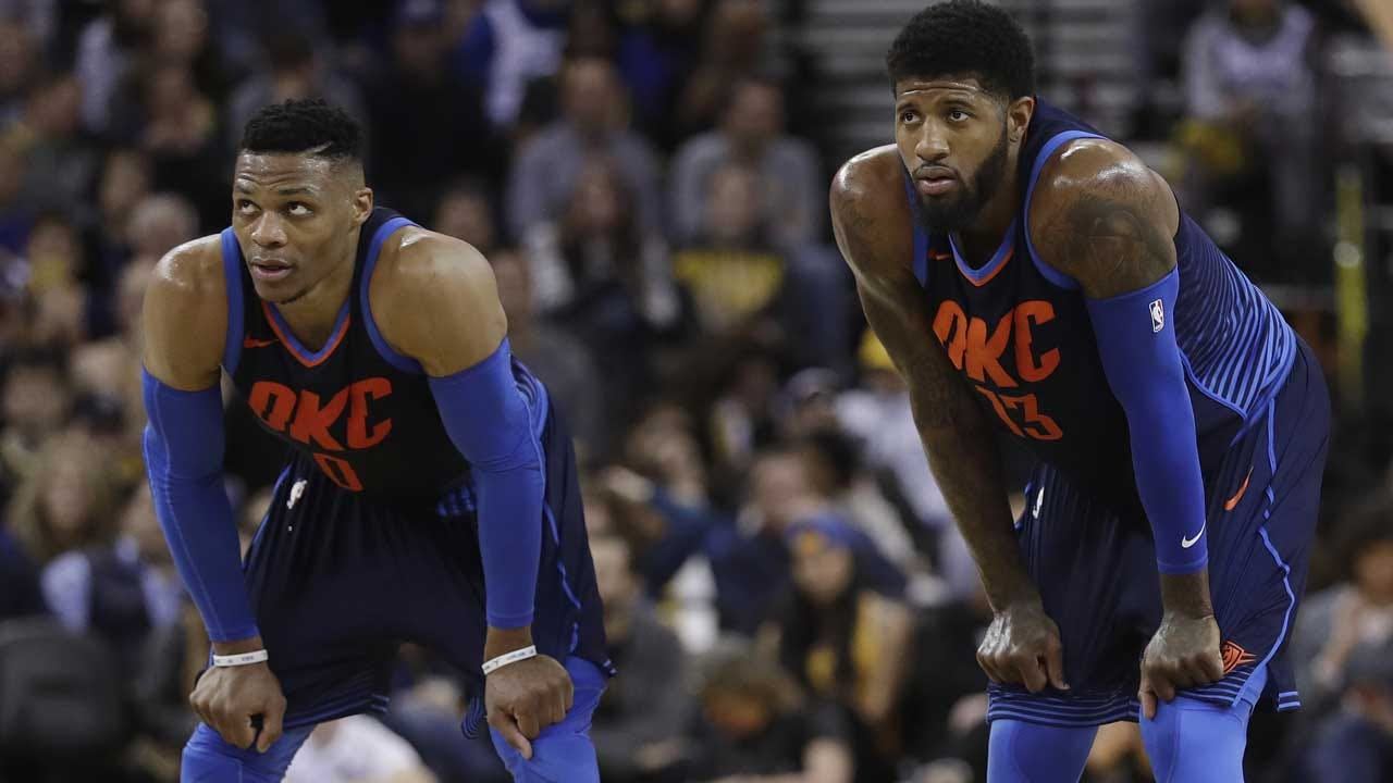 Westbrook On PG Re-Signing: 'Very, Very Excited Man'