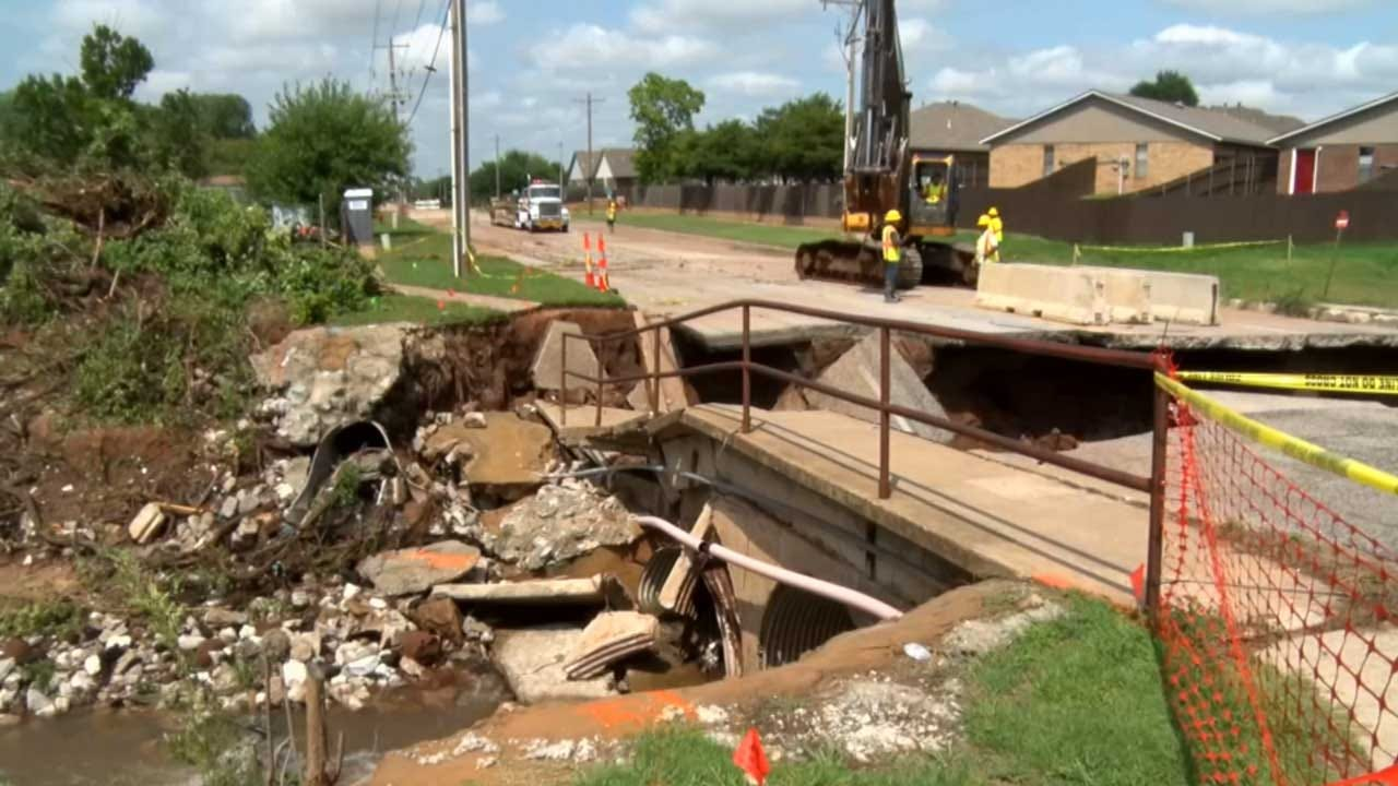 Norman Bridge Collapses Just In Time For Construction