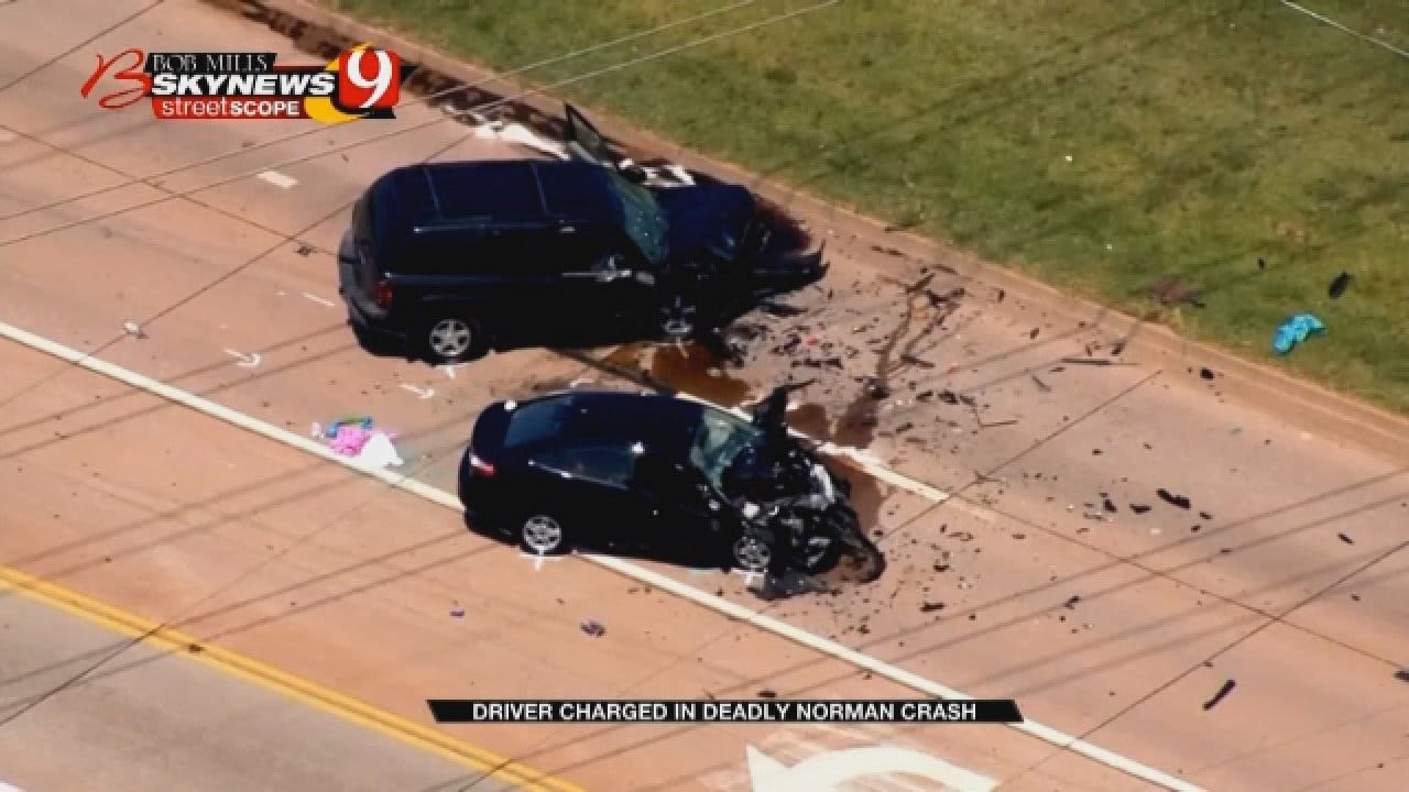 Woman Charged With Manslaughter Following Norman Wreck