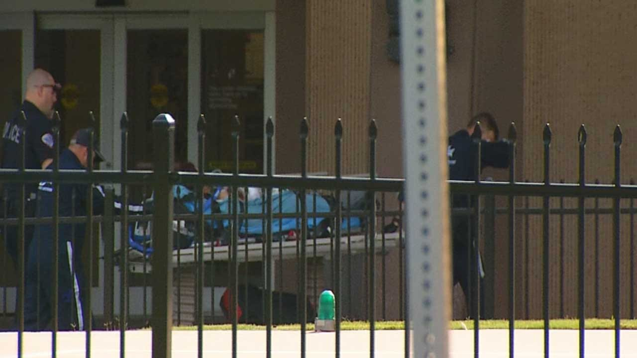Luther HS Stabbing Victim 'Stable' At OU Medical Center