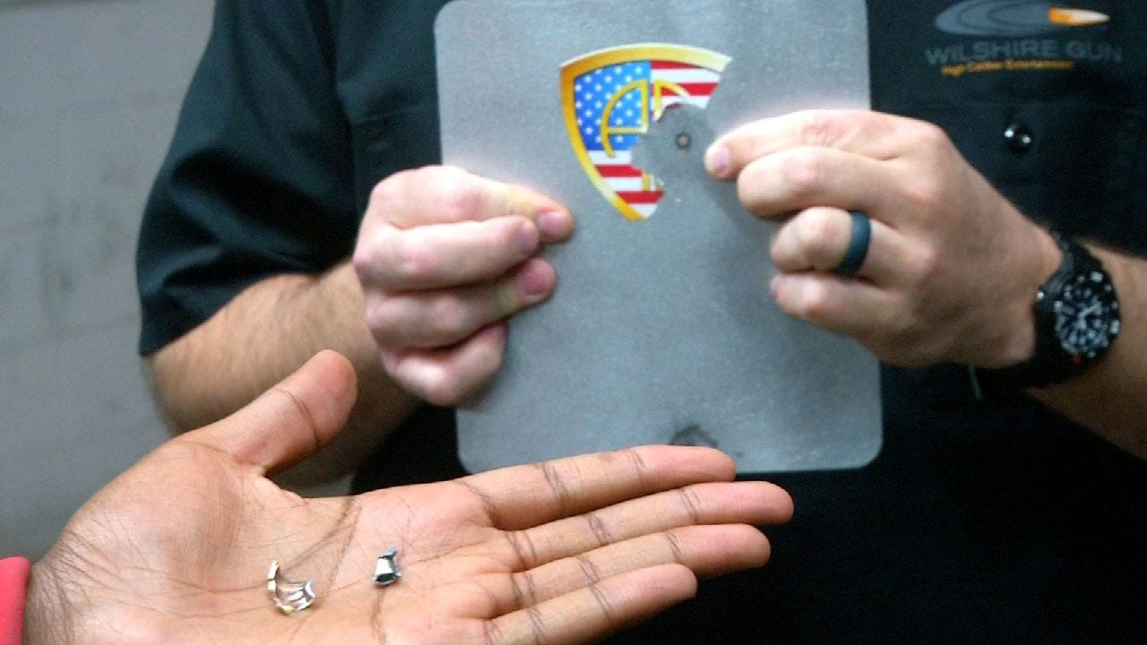 Oklahoma Company Developing Backpack Safety Plates