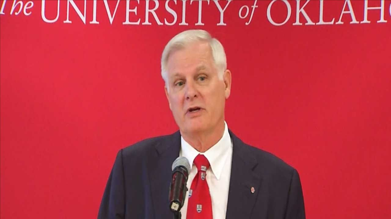 OU's New President Wants To Improve OU Grad And Research Programs
