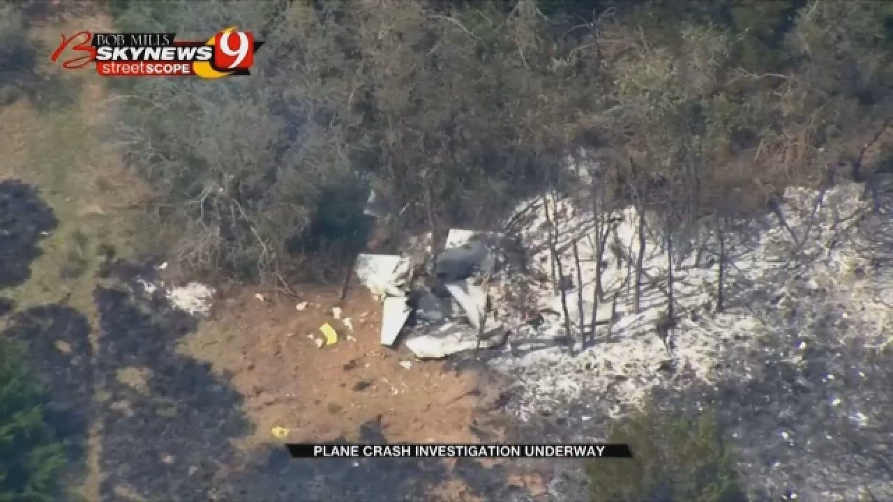 Recovery Efforts Continue After Military Aircraft Crash In Woodward Co.