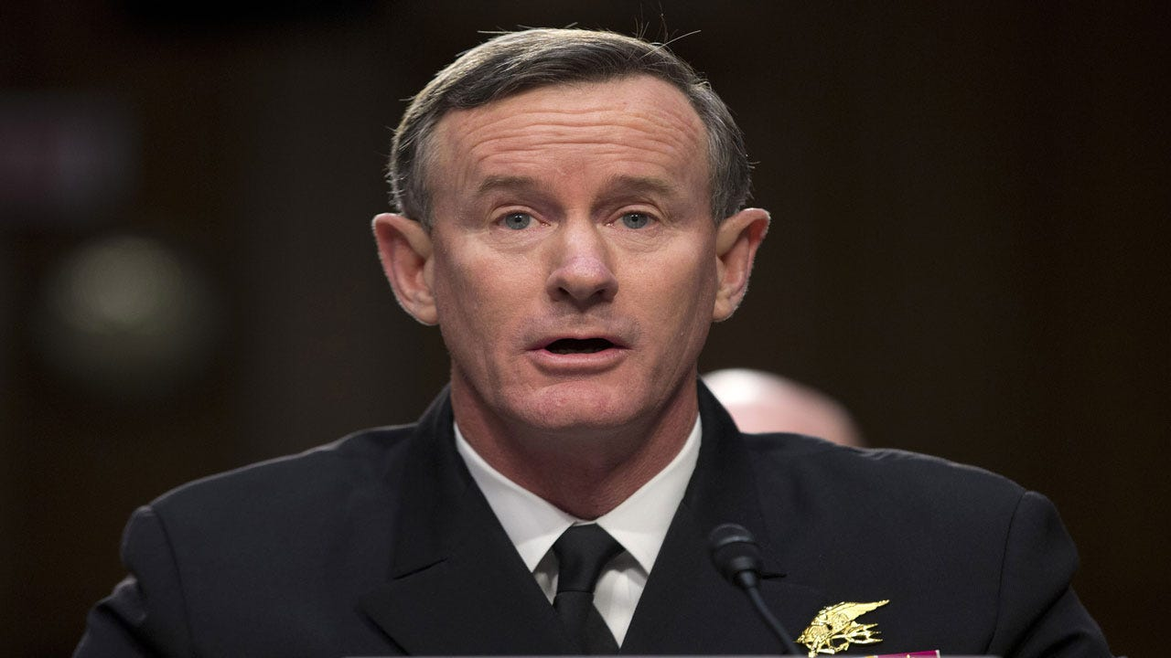 Retired Adm. William McRaven Asks Trump To Revoke His Security Clearance