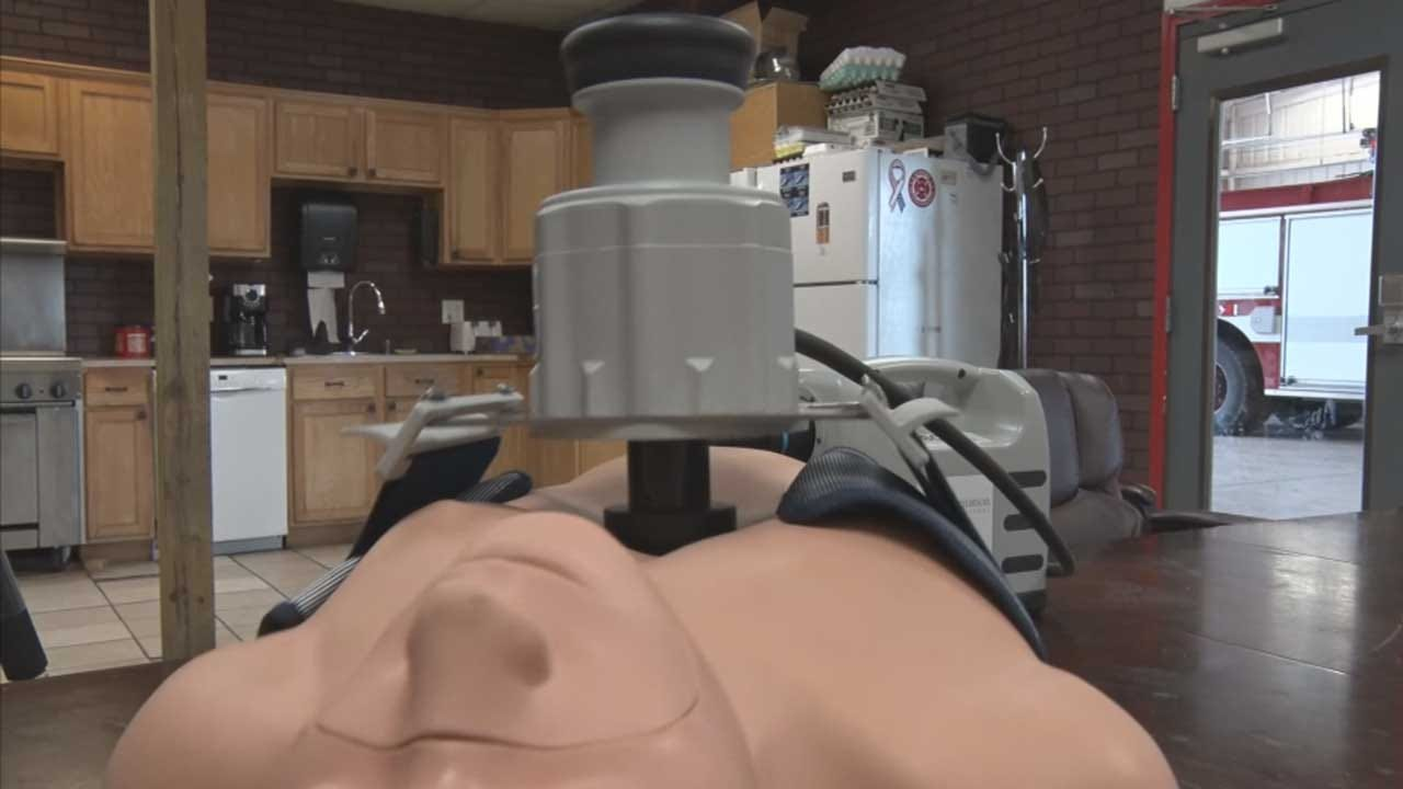 Tuttle Fire Department Receives Mobile CPR Machines