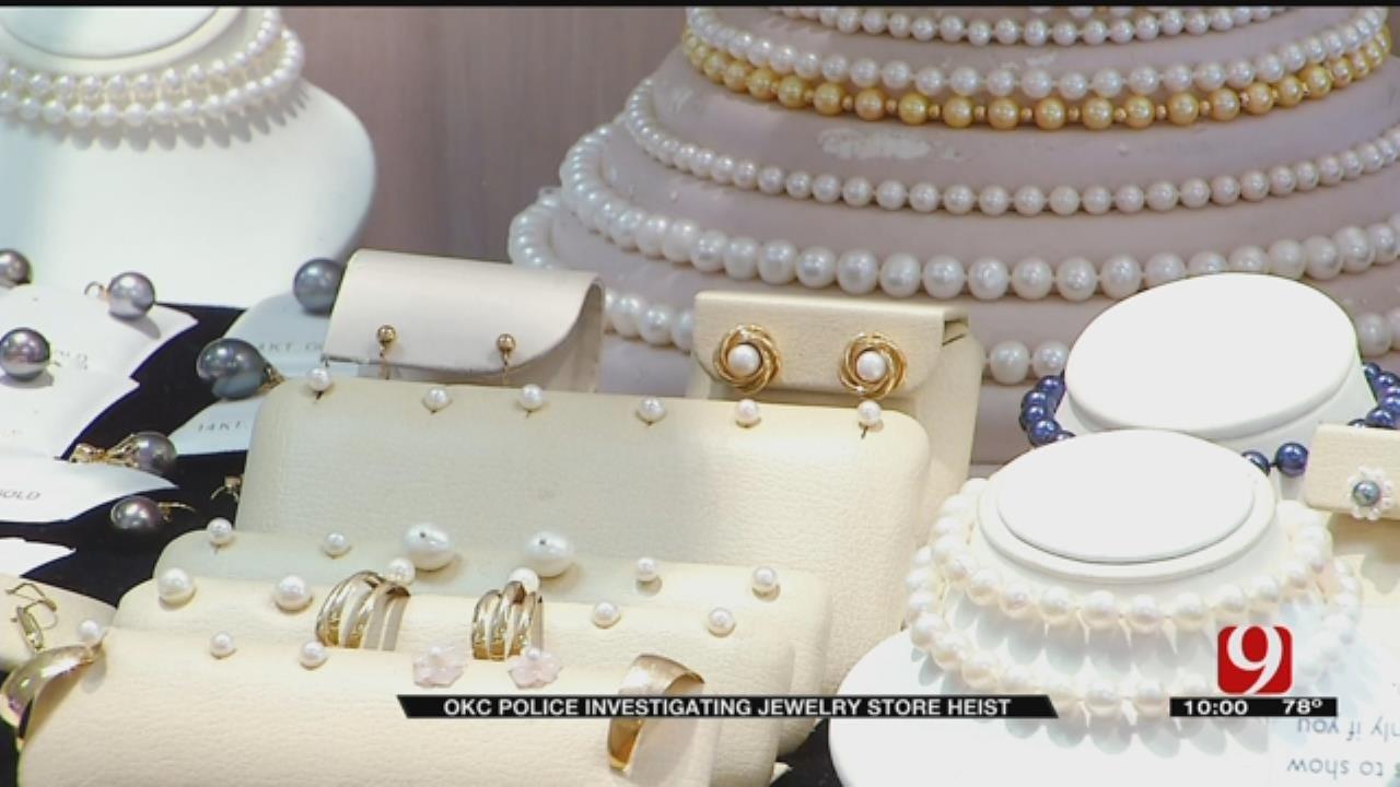OKC Police Investigate Jewelry Store Heist