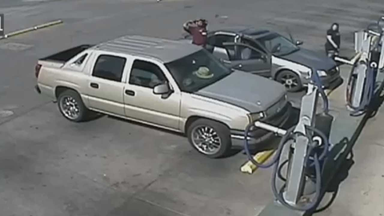 OKC Police Search For Robbery Suspects