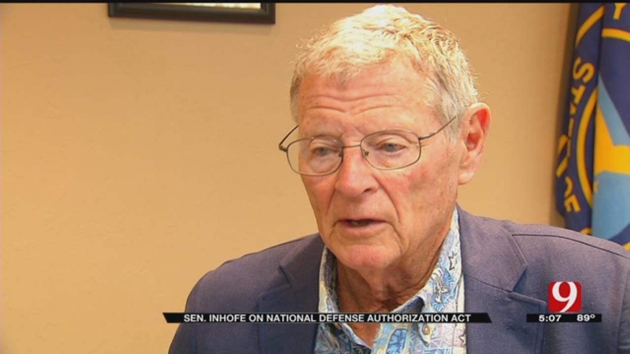 Senator Inhofe On The National Defense Authorization Act