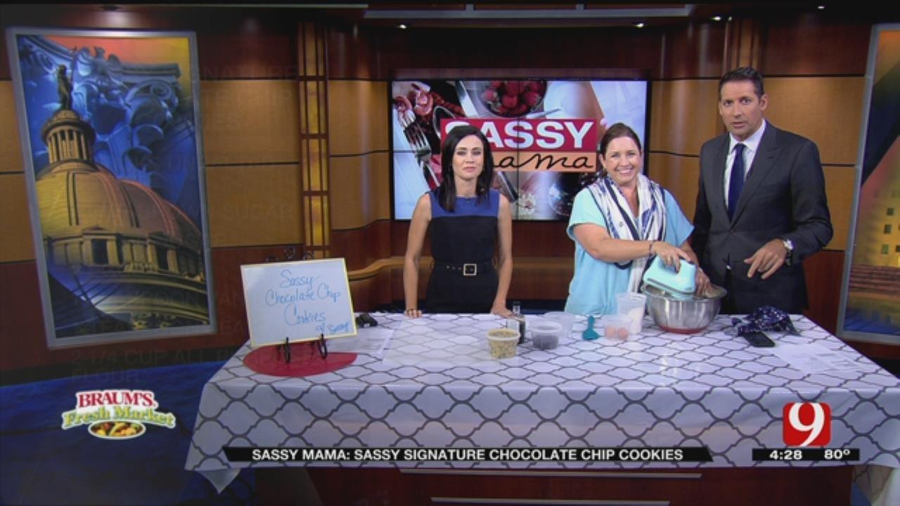 Sassy Signature Chocolate Chip Cookies
