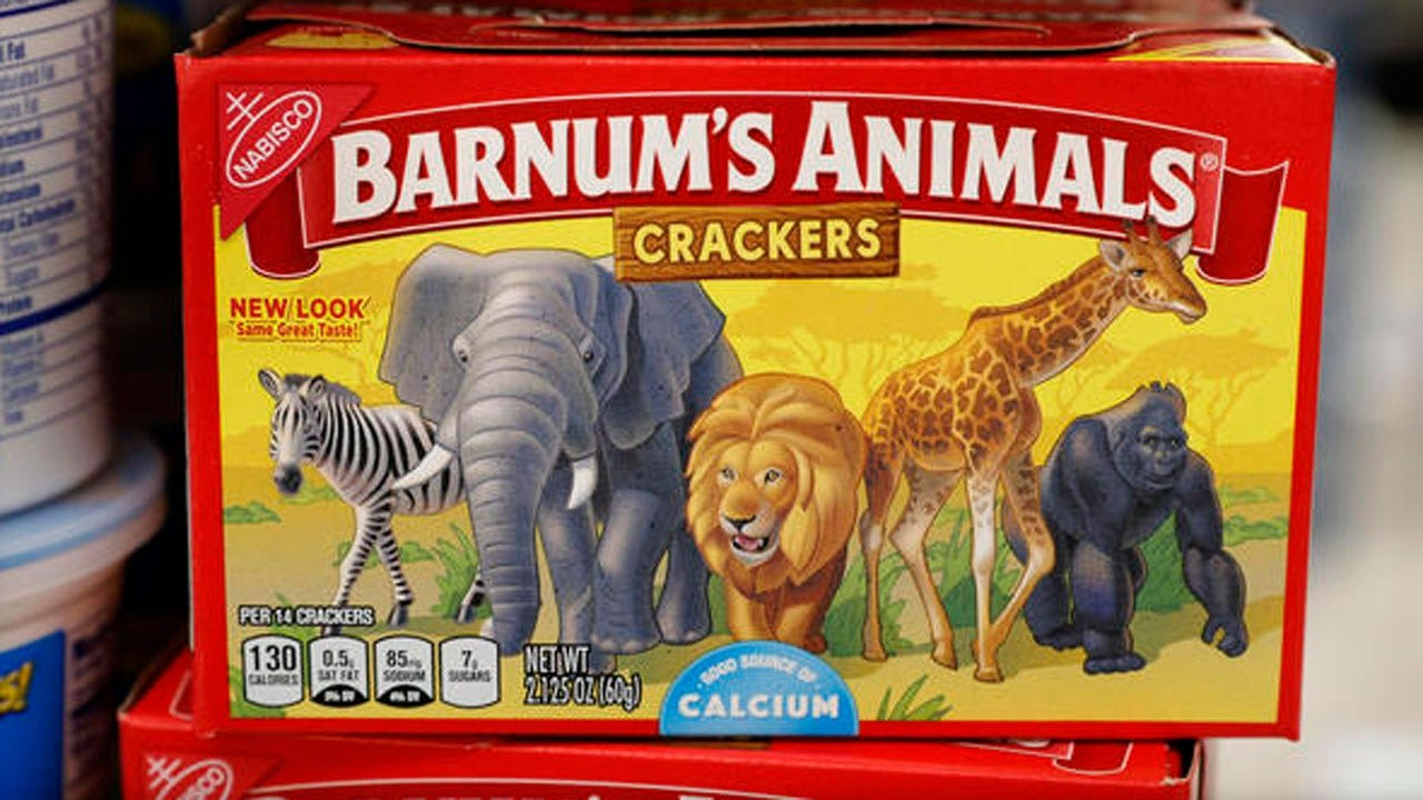 """Animal Crackers' Animals """"Freed"""" As Boxes Get New Look"""