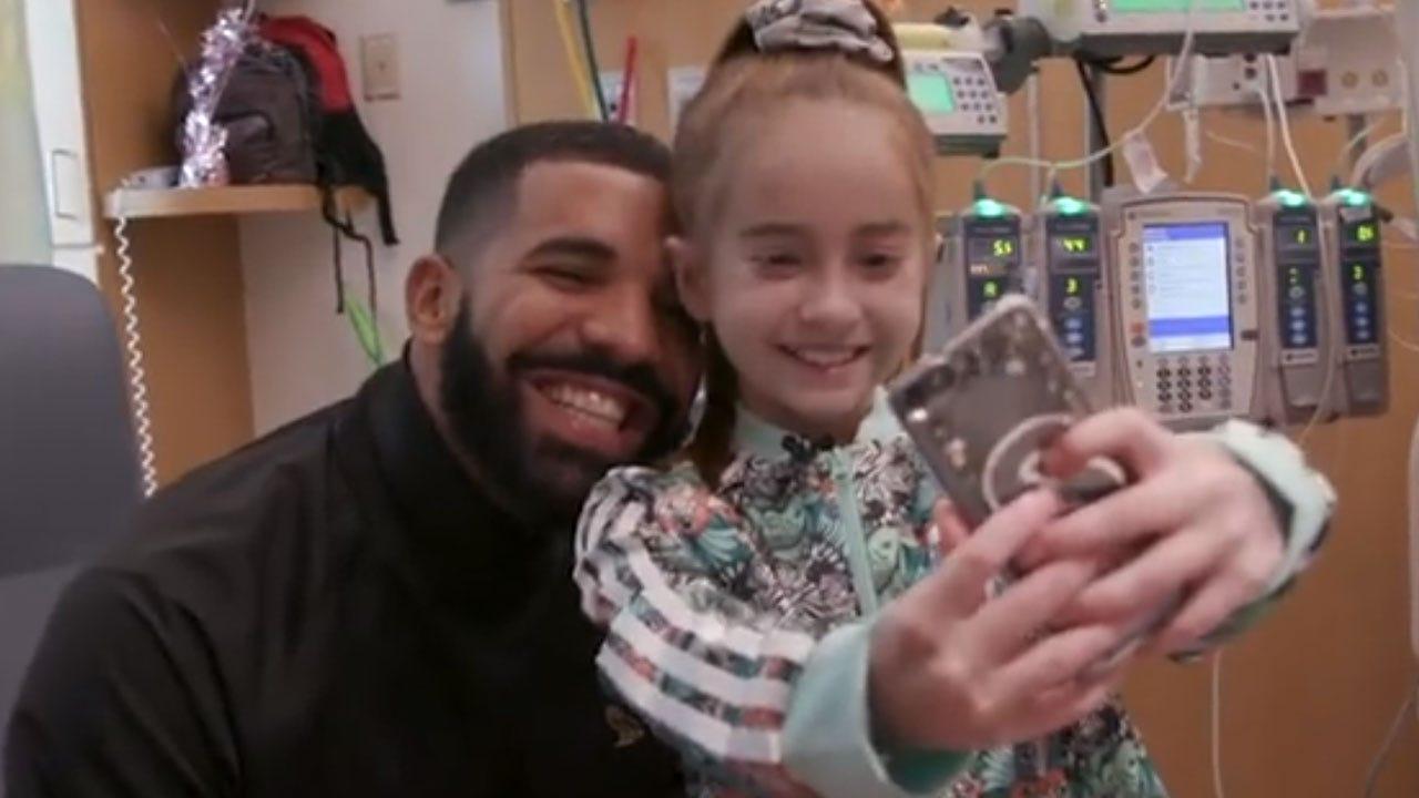 Drake Surprises 11-year-old Girl Awaiting Heart Transplant At Chicago Hospital