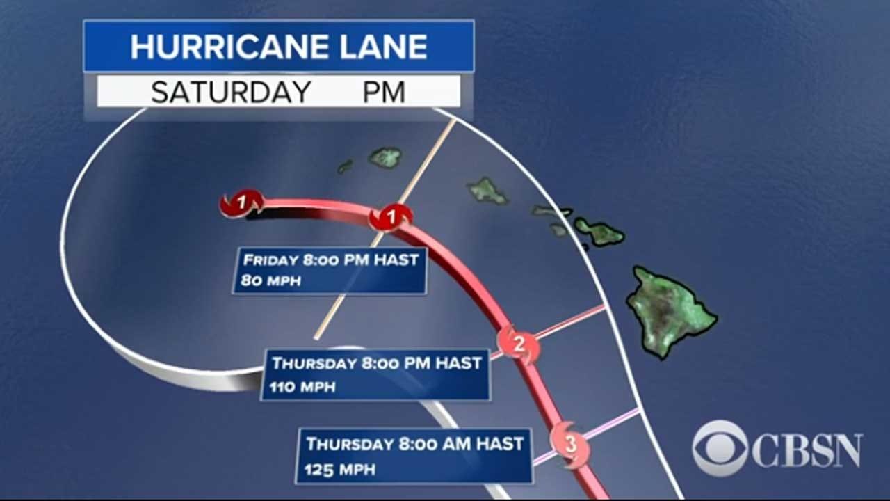 Monster Category 5 Storm, Hurricane Lane, Targeting Hawaii