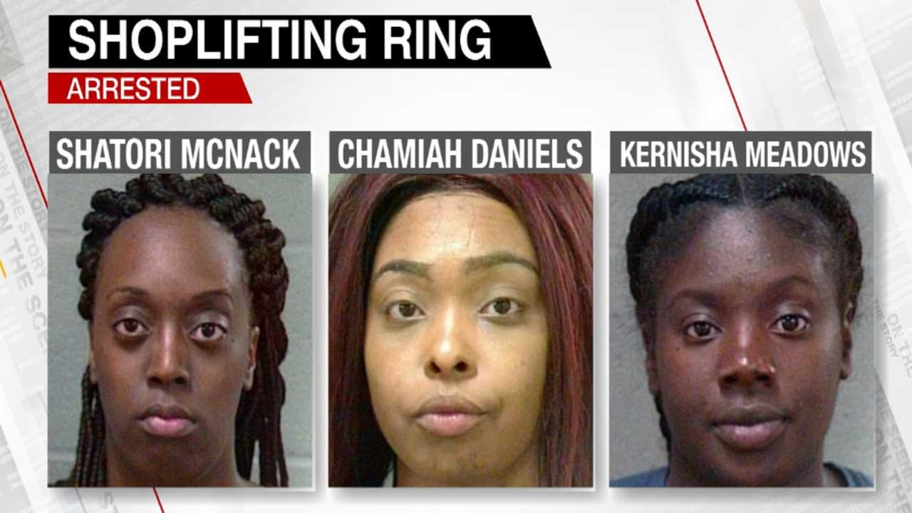 OKC Task Force Nabs 3 In High-Dollar Retail Theft Ring