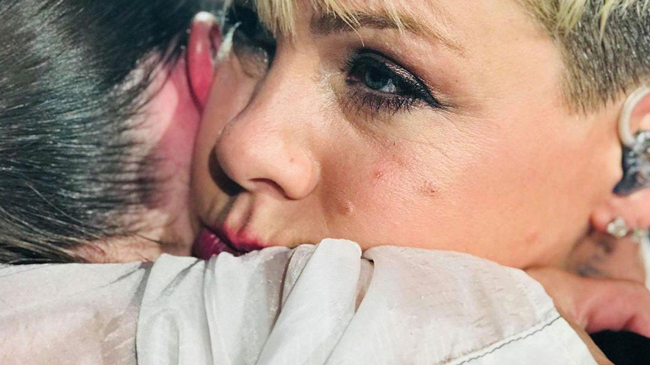 Pink Stops Concert To Hug Teen Whose Mom Recently Died