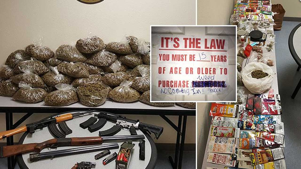 Police: 15-Year-Old Girl Ran Pot Shop Out Of Her Bedroom With Mom's Permission