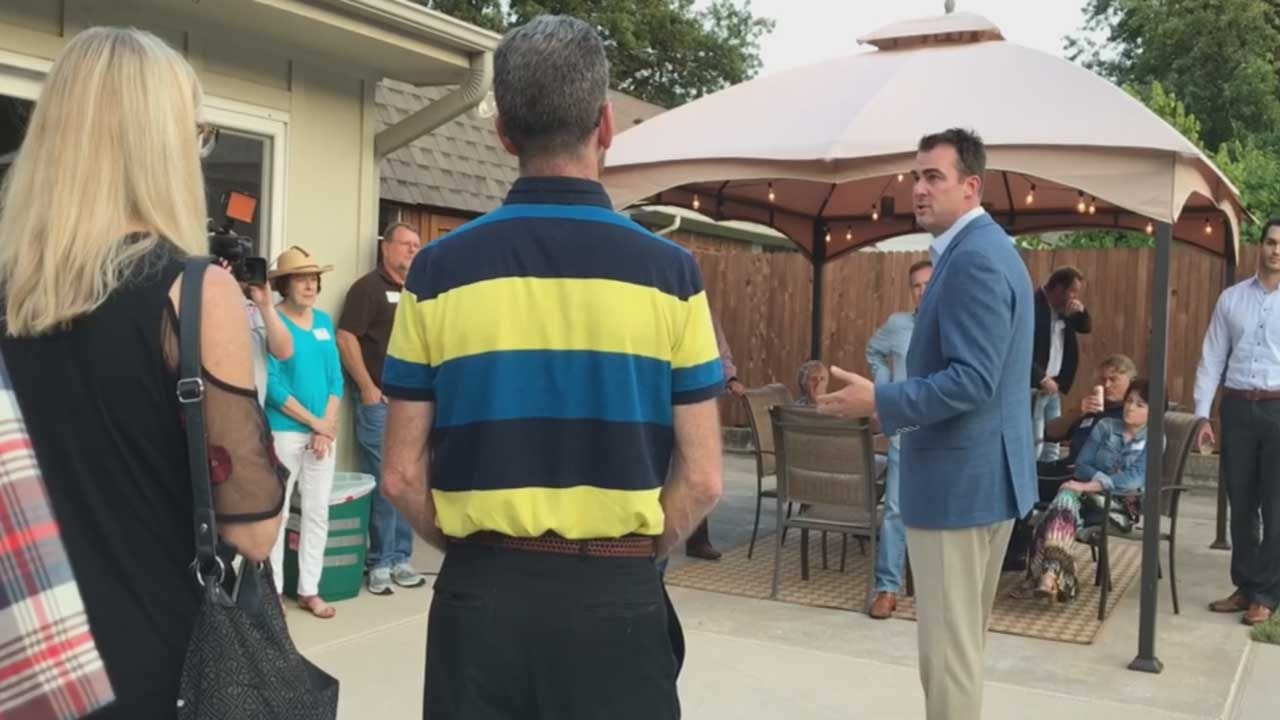 Stitt Says Small Donations Key To Funding Campaign