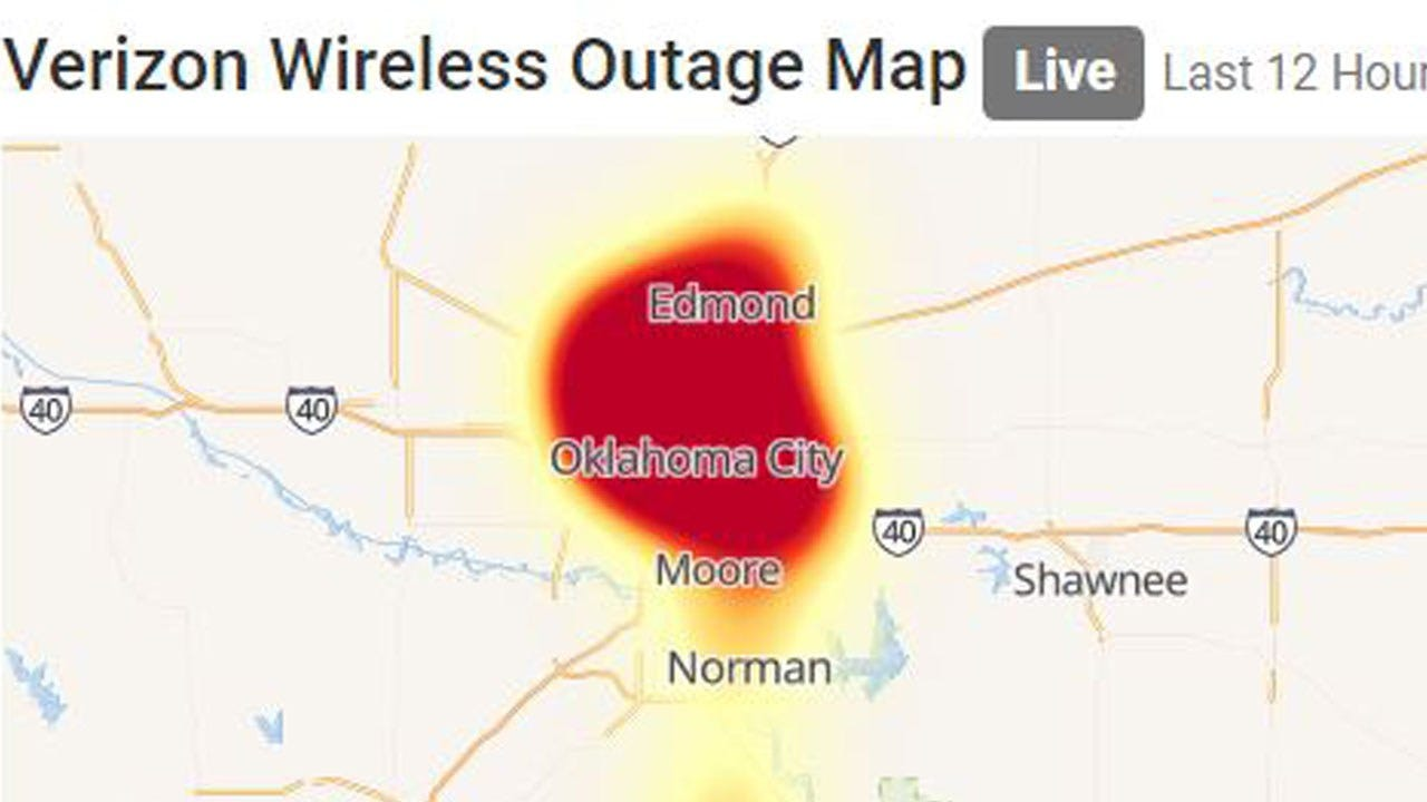 Reports Of Major Verizon Outage In OKC Metro