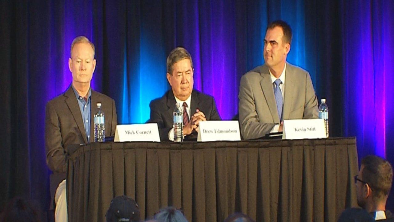 Gubernatorial Candidates Focus On Education Issues