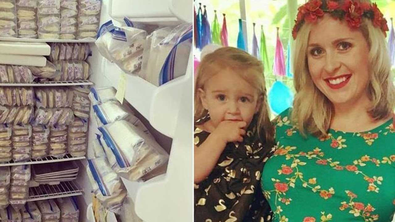 California Mom Donates Nearly 1,000 Pints Of Breast Milk To Help Other Mothers