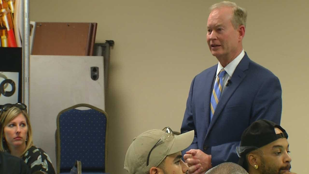 Mick Cornett Encouraging People To Vote Day Before Runoff Election