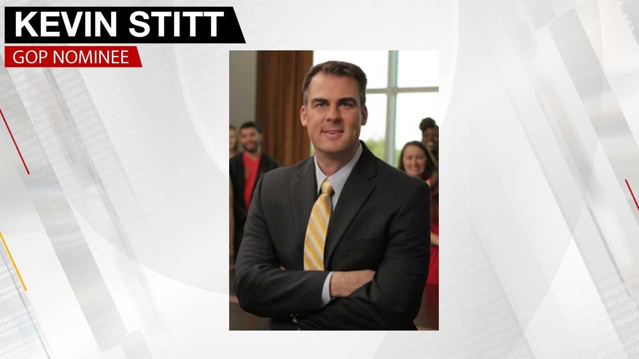 Tulsa Businessman Kevin Stitt Wins GOP Nomination For Governor