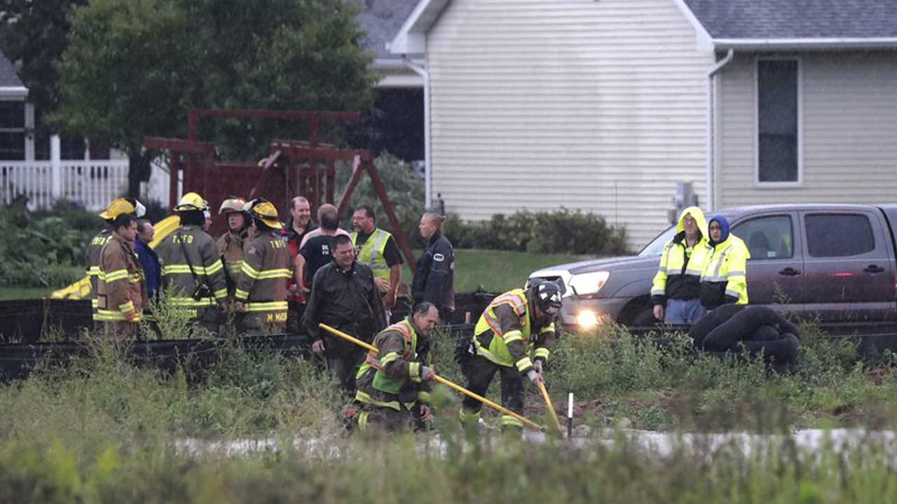 Boy Swept In Sewer Sticks Finger Out Of Manhole And Is Saved