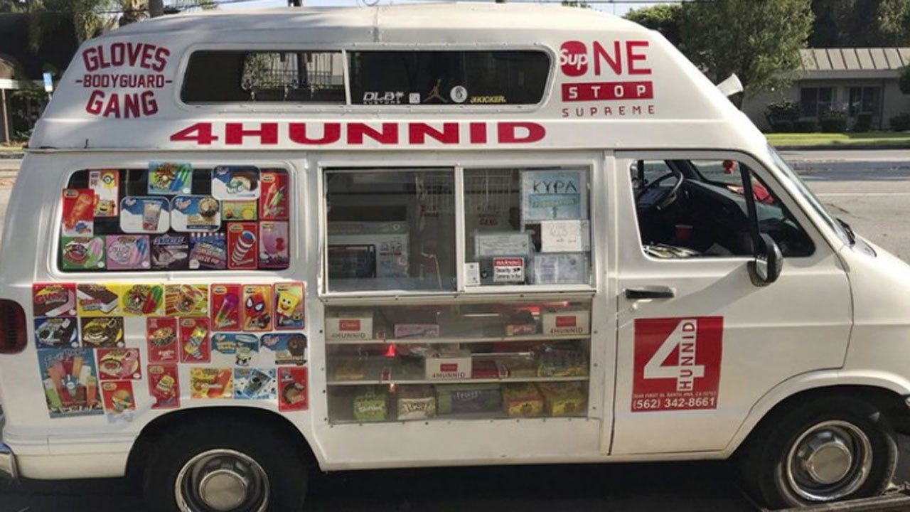 Drugs Allegedly Sold From Ice Cream Truck