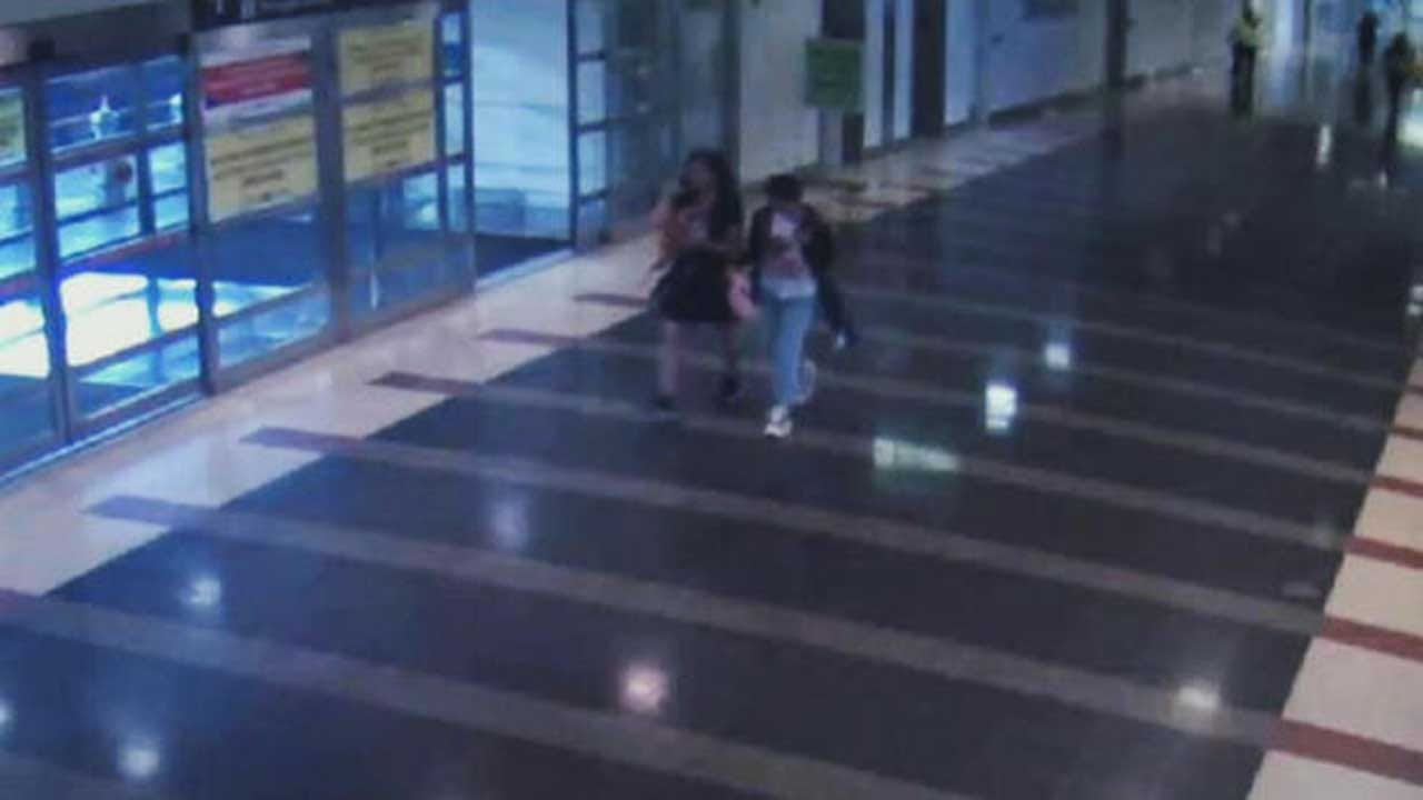 Amber Alert: Surveillance Photo Shows 12-Year-Old Girl And Her Alleged Airport Abductor