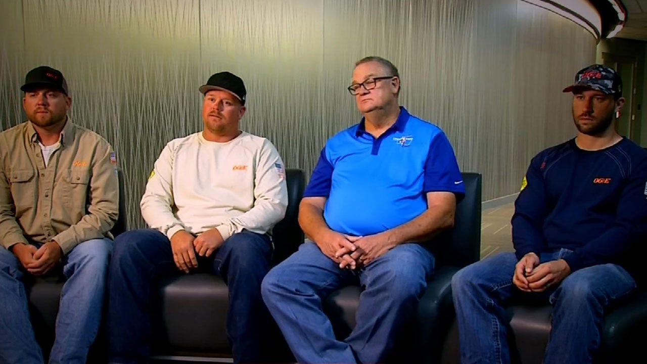 OG&E Linemen Recount Their Experience In Puerto Rico