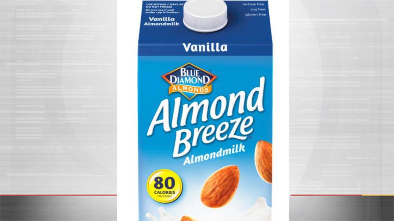 Recall: Vanilla Almond Breeze Almond Milk Could Contain Milk