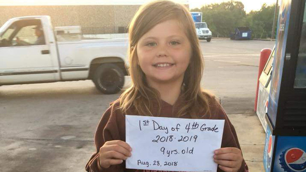 Child Killed Minutes After Taking Her Back-To-School Picture