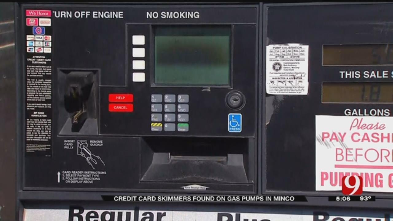 Internal Skimmers Found At Popular Minco Gas Station