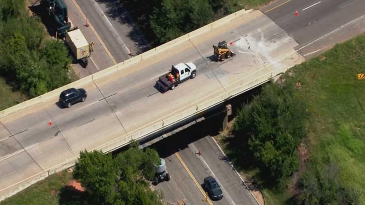 ODOT Working To Patch Potholes On Aging Bridges, Roadways