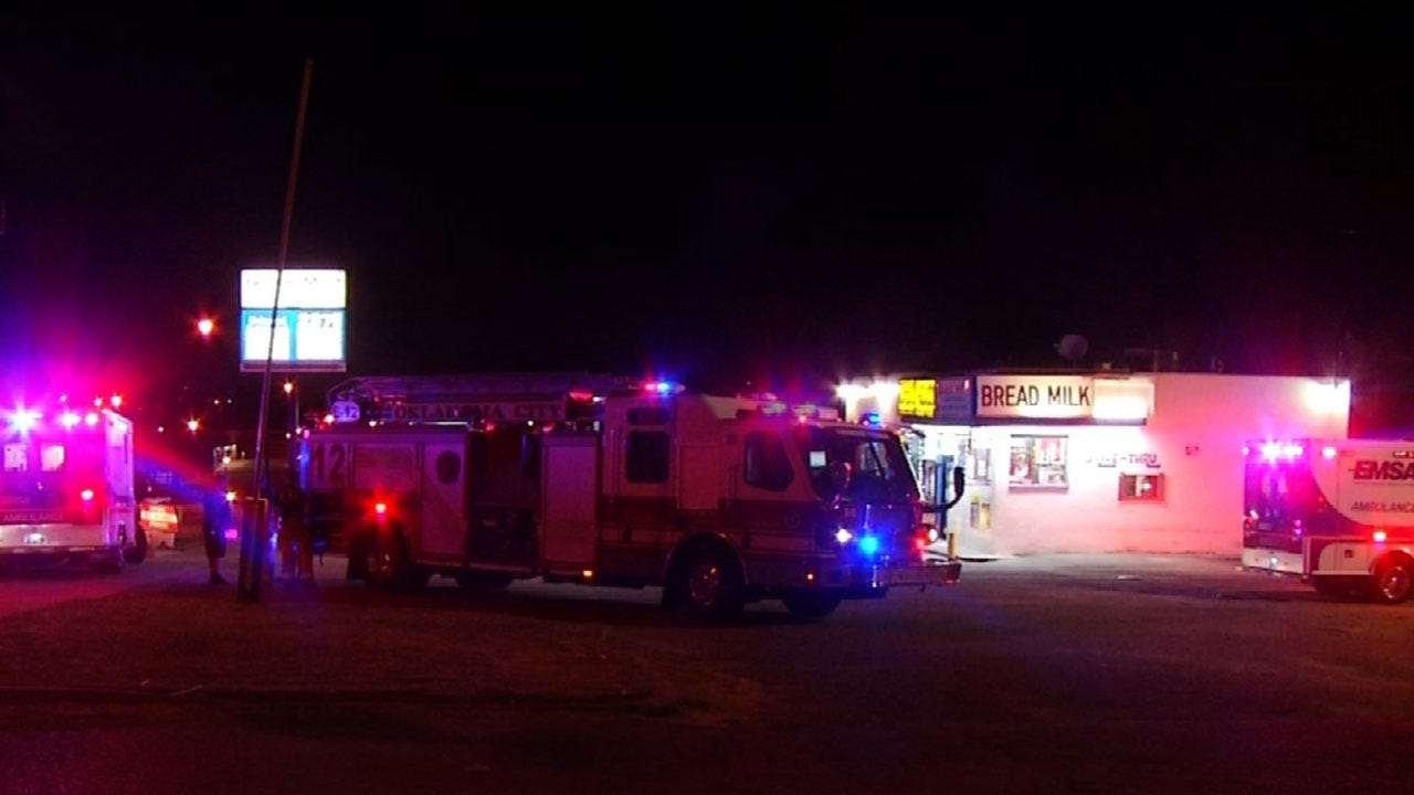 Person Stabbed Inside Convenience Store Near Northeast OKC