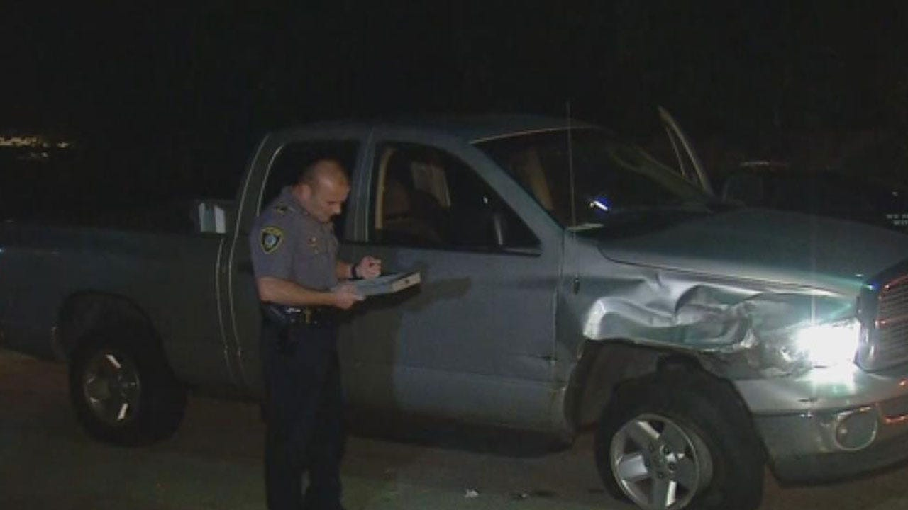 Suspects Point Gun At Victim During Hit-And-Run In SW OKC