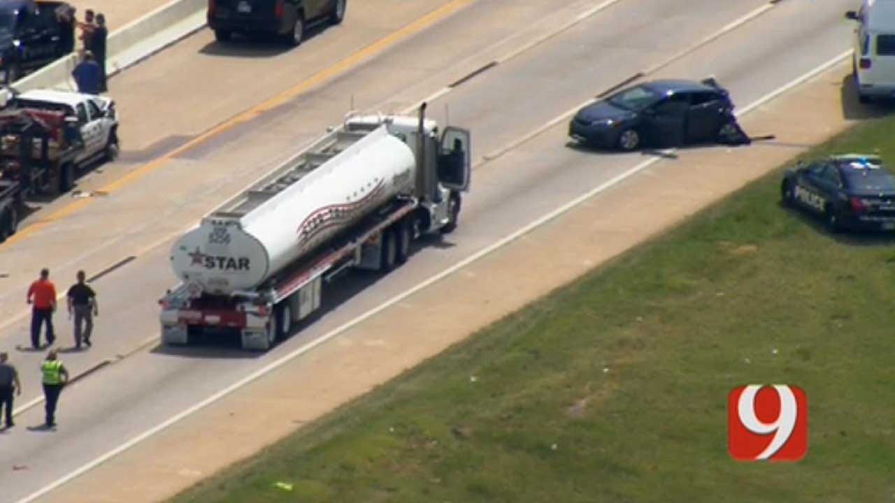 1 Critically Injured In OKC Crash Involving Governor's SUV