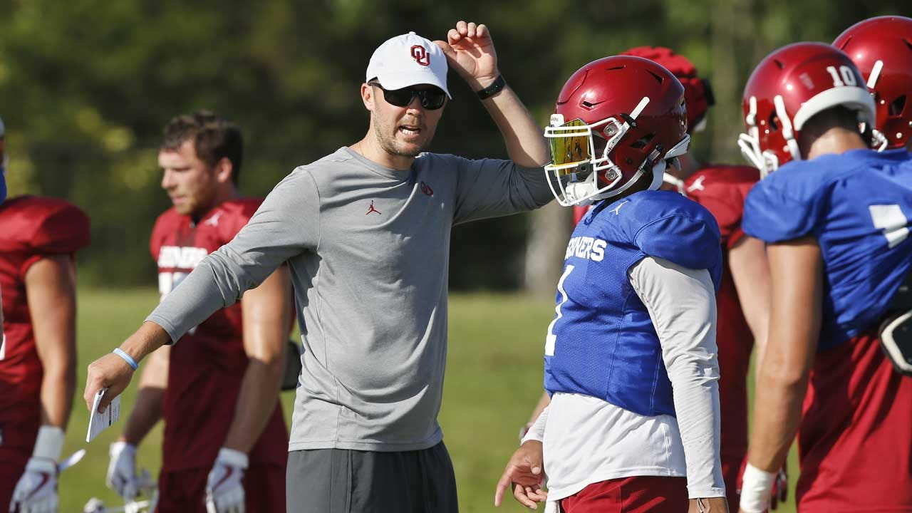 Dean's Blog: OU's Riley On The IR, 5 Days From A Very Big OU-Texas Game