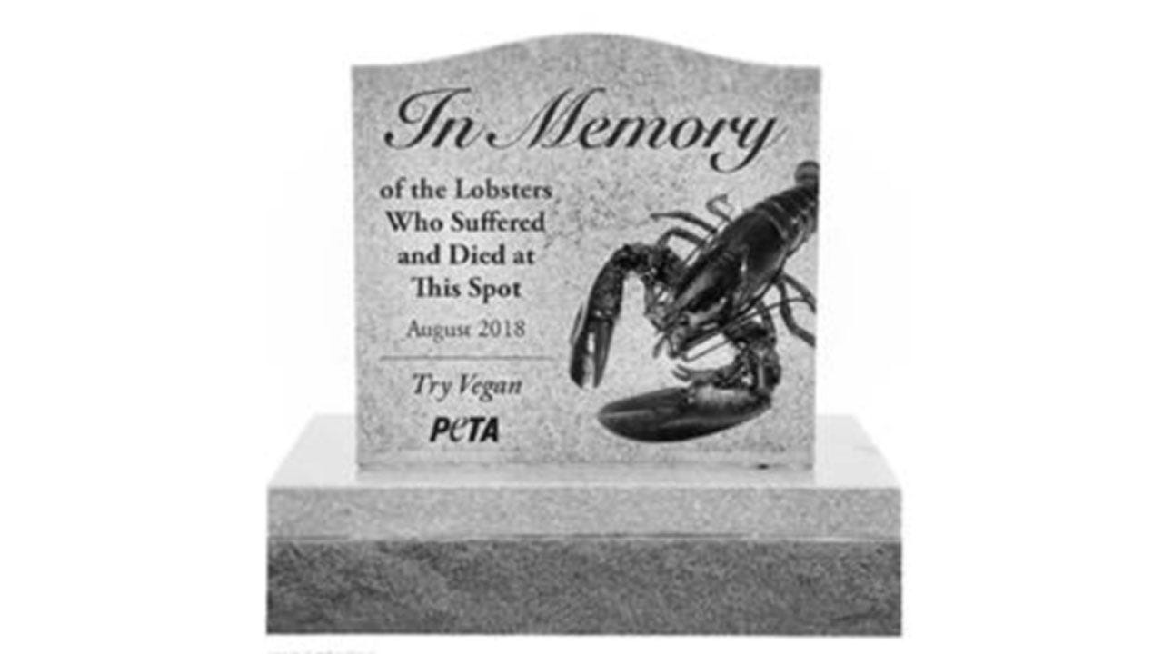 PETA Asks To Build Memorial To Honor Lobsters Killed In Crash