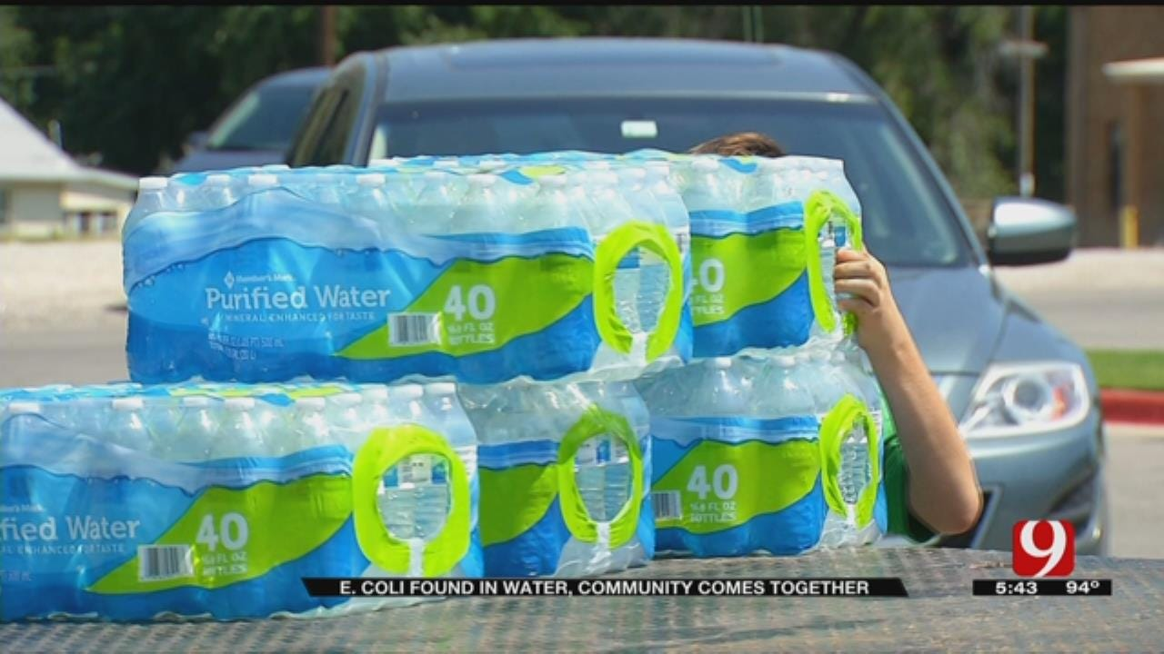 Community Comes Together To Bring Bottled Water To Jones Residents