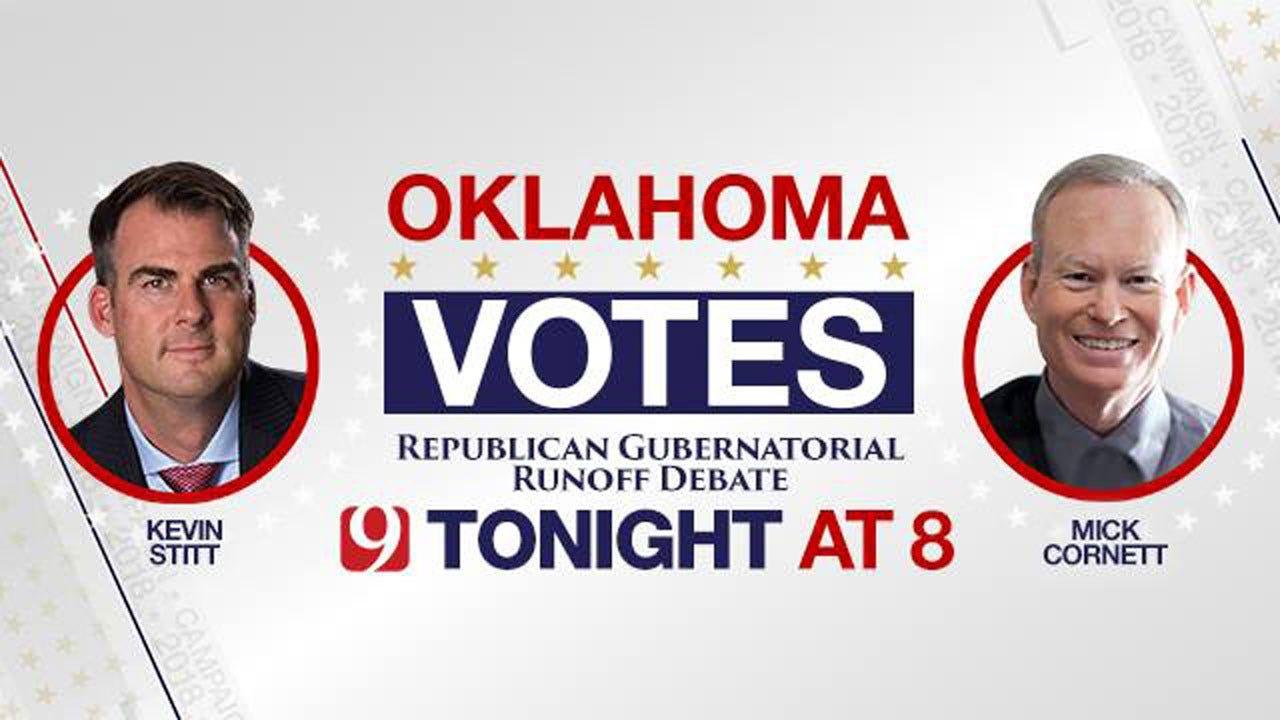 Recap From The Oklahoma Republican Governor Debate