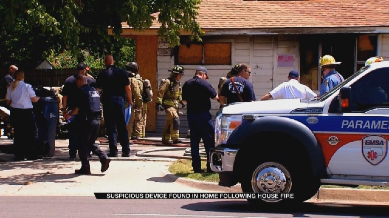 Suspicious Device Found In Home Following OKC House Fire