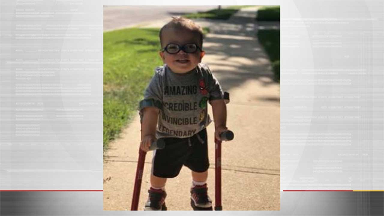2-Year-Old Who Overcame The Odds And Learned To Walk Inspires Millions