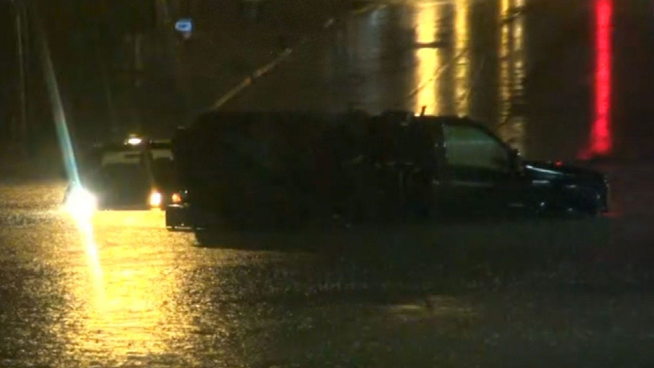 Crews Called To Several Fires, Water Rescues During Wednesday's Storms