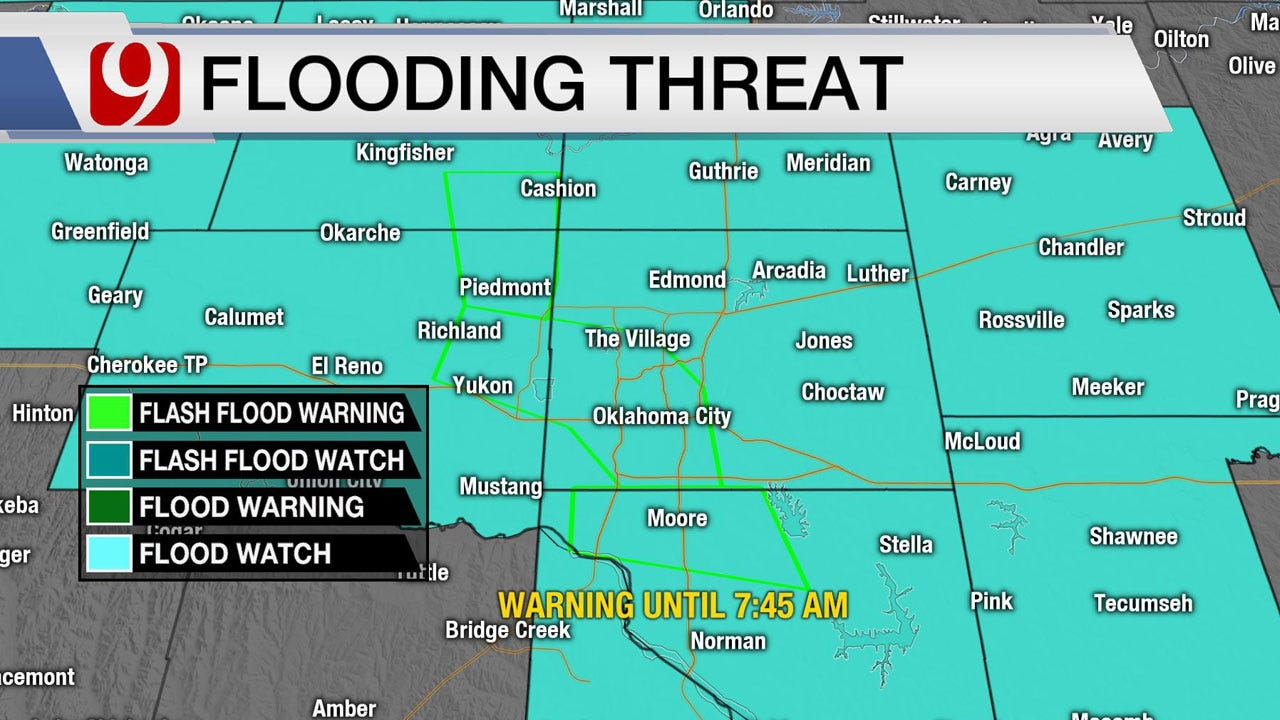 Heavy Rain And Severe Storms Wednesday
