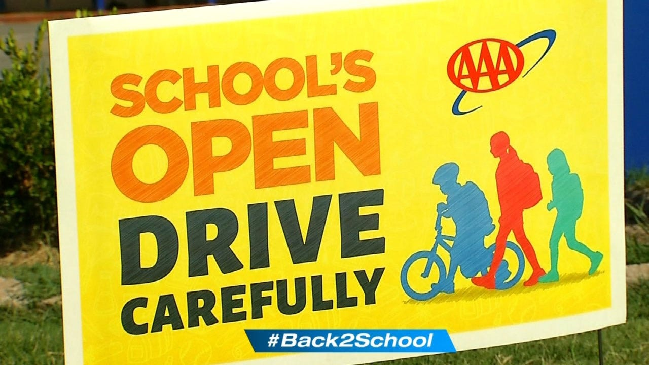 AAA Expands Effort To Lower School Zone Injuries In OKC