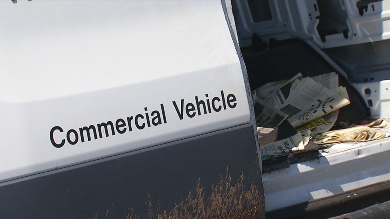 Man Steals Edmond Newspaper Van And Leads Police On A Chase