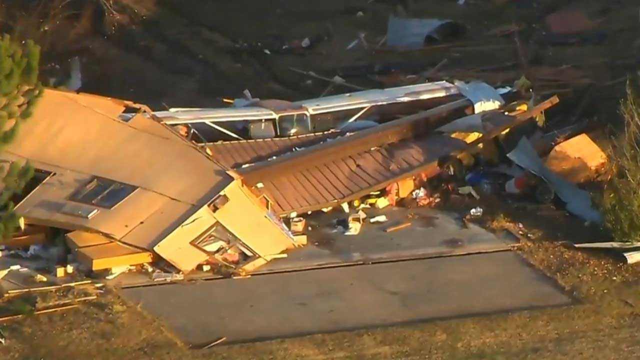 Major Damage Reported After Confirmed Tornado Touches Down In NE Oklahoma
